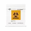 Medline Zip-Style Biohazard Specimen Bags 8x8 MED DYND30271