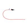 Medline Open Suction Catheters, Red, 10.0 MED DYND40990