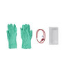 Medline Open Suction Rigid Trays with Catheter and Gloves, Green, 14.0 MED DYND48982