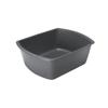 Plates Balti Dishes: Medline - Washbasin, Rectangular, Graphite, 6 Qt