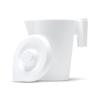 Medline Foam Pitchers, White, 32 oz. MED DYND80412