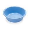 Medline Washbasin, Round, Autoclavable, Blue, 6 Qt MED DYND88310