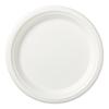 Medline Compostable Sugar-Cane-Fiber Plate, 9, 500 EA/CS MED ECOPLATE9