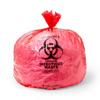 Medline Trash Liners, Red MED EVSBL404613RP