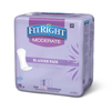 """incontinence: Medline - FitRight™ Moderate Flow Bladder Control Pads,  4.3"""" x 11"""", 16/BG"""