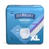Medline FitRight Super Protective Underwear, X-Large, 20 EA/BG MED FIT33600AZ