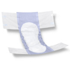 Medline FitRight Basic Adult Incontinence Briefs, Size Regular, for Waist Size 40-50, 25 EA/BG MED FITBASICRGZ