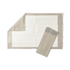 Medline FitRight Extended-Use Premium Underpads, Gray, 23 X 36, 70 EA/CS MED FPU2336