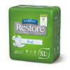 Medline FitRight Restore Ultra Briefs, 57-66, 80 EA/CS MED FRP600