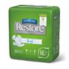 Medline FitRight Restore Ultra Briefs, 60-69, 80 EA/CS MED FRP700