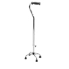 rehabilitation devices: Guardian - Cane, Quad, Small Base, Adult