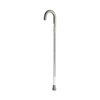 rehabilitation devices: Guardian - Cane, Chrome, Curved Handle