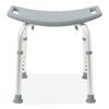 Medline Aluminum Bath Benches without Back, Gray, 1 EA MED G2-201KRX1