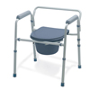 bedpans & commodes: Guardian - Folding 3-In-1 Commode