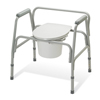 Guardian Commode, Ez-Care, Extra-Wide, 3 In 1 MED G30214-2