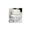 Guardian Chair, Shower, with Back, Ez-Care, 250 Lb Cap MED G30400-4
