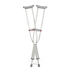 rehabilitation devices: Guardian - Crutch, Red-Dot, Tall, Adult, Pair