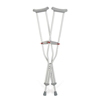 Guardian Crutch, Aluminum, Red-Dot, Youth MED G92-214-8