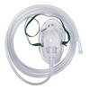 Medline Disposable Pediatric Medium-Concentration Oxygen Mask with 7' Tubing, Standard Connector, 50 EA/CS MEDHCS4601B