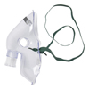 Medline Aerosol Mask with Straight Connector, Adult, 50 EA/CS MEDHCS4630B