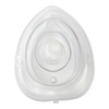Medline Adult/Pediatric CPR Mouth-to-Mask Resuscitator with Filter Valve and Case, 12 EA/CS MEDHCS64184