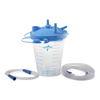 Medline 850 cc Suction Canister Kit with Float Lid and Tubing, 12 EA/CS MEDHCS7851