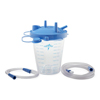 Medline 850 cc Suction Canister Kit with Filter Lid and Tubing, 1/EA MEDHCS7852H