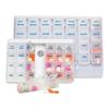 Health Enterprises Seven Day Deluxe Pill Boxes, 1/EA MED HET400407H
