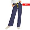 Medline AngelStat Unisex Reversible Drawstring Waist Scrub Pants, Blue, XL MED M600NNTXL-CA