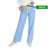 Medline AngelStat Unisex Reversible Drawstring Waist Scrub Pants, Blue, Medium MED M600NTHM-CM