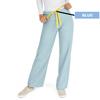 Medline AngelStat Unisex Reversible Drawstring Waist Scrub Pants, Green, Large MED M600NTZL-CM