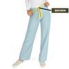 Medline AngelStat Unisex Reversible Drawstring Waist Scrub Pants, Green, Medium MED M600NTZM-CA