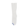 Medline EMS Knee-High Anti-Embolism Stockings, White, Large, 12 PR/BX MED MDS160664