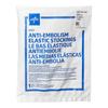 Medline EMS Knee-High Anti-Embolism Stockings, White, X-Large, 12 PR/BX MEDMDS160688