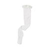 Medline EMS Thigh-High Anti-Embolism Stockings, White, Medium, 6 PR/BX MED MDS160844