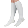 Curad Cushioned Compression Socks, White, C MED MDS1715CWH