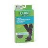 Medline CURAD Compression Dress Socks, Black, C MED MDS1716CBH