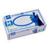 Medline SensiCare Ice Blue Powder-Free Nitrile Exam Gloves, Violet Blue, Medium, 250 EA/BX MED MDS2502H