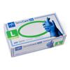 Gloves Nitrile Gloves: Medline - SensiCare Ice Blue Nitrile Exam Gloves