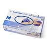 Medline SensiCare Silk Powder-Free Nitrile Exam Gloves, Dark Blue, Medium, 250 EA/BX MED MDS2585H