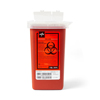 Medline Phlebotomy Sharps Containers, Red, 1.000 QT, 1/EA MED MDS705110H
