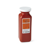 Medline Container, Sharps, 1.5Qt., Red, Transportable, Phleb MED MDS705115