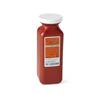Medline Phlebotomy Sharps Container, Red, 1.5 qt. MED MDS705115