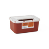 Medline Multipurpose Sharps Containers, Red, 4.000 QT, 1/EA MED MDS705201H