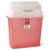Medline Biohazard Patient Room Sharps Container MED MDS705203