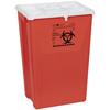Medline PG-II Flat Sharps Container, Red, 18 gal. MED MDS705218H