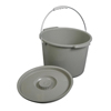 Medline - Commode Bucket w/Lid & Handle