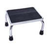 Medline Chrome Footstool with Rubber Mat, 1/EA MEDMDS80430I
