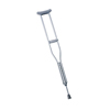Medline Push-Button Aluminum Crutches MED MDS80534HW