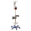 Medline IV Pole, Heavy Duty, Quick Release Casters MED MDS80600